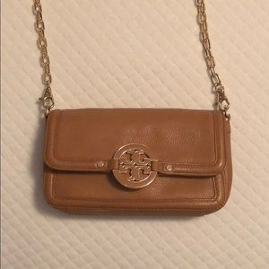Tory Burch Leather Chain Purse